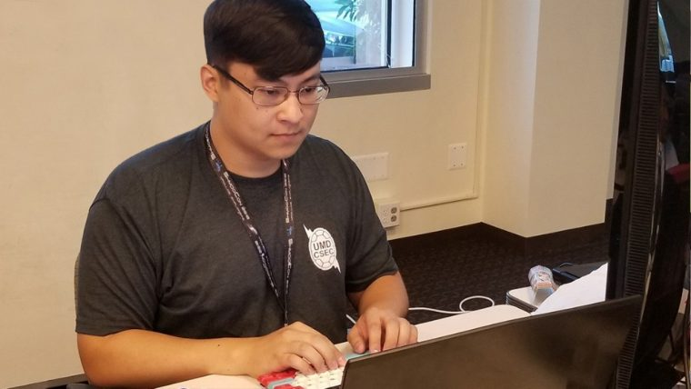 Q&A: Computer Engineering Intern Joshua Fleming